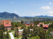 Montana State University View of Campus