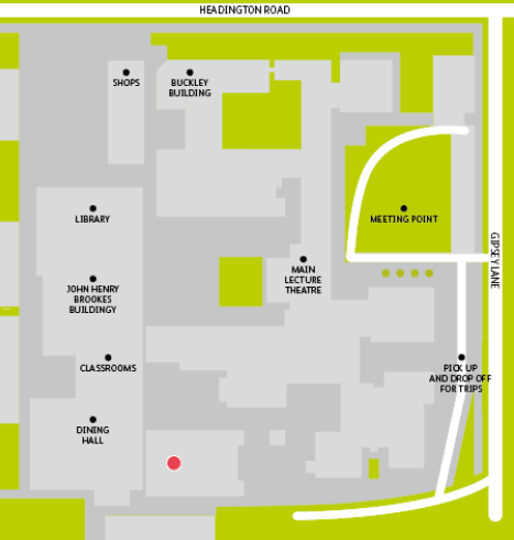 Embassy Oxford Living Map
