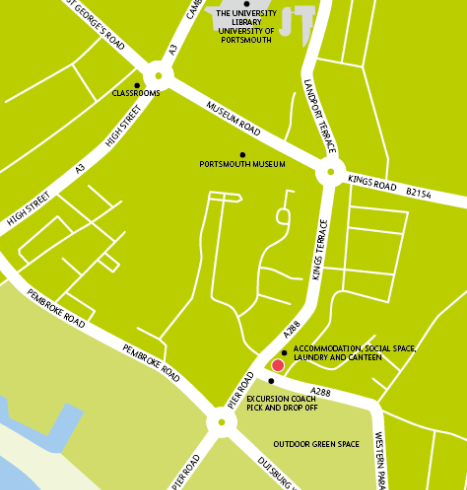 Embassy Portsmouth Living Map